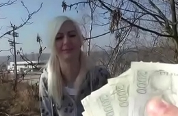 Bring in b induce Pickup Euro Girl Fuck Tourist For Cash 15