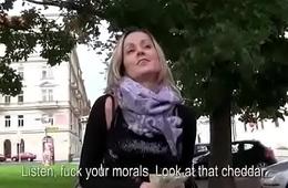 Public Pickups - Amateur Teen Slut Seduces Tourist For Fuck 08