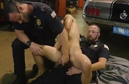 Young fetish gay porn Get permeated by the police