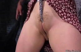Natural huge tits hold a session pussy toyed