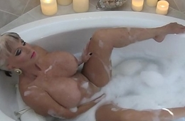 Hot MIlf in Bubble Bath - Sally D'_angelo