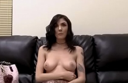 Casting couch lady sex