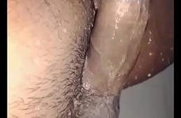Desi Dick wash slowmotion