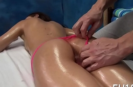 Downcast fleshly massage