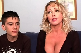 A true milf club: Bibian'_s big boobs Vs Jordi'_s head
