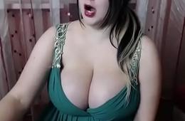 Huge boobs bbw on webcam chat