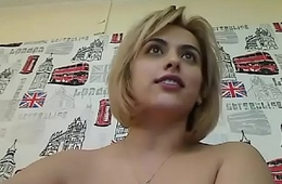 Colossal tits milf show off on webcam