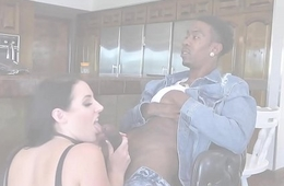 BANGBROS - Busty Babe Angela White'_s Big Tits above Monsters of Cock