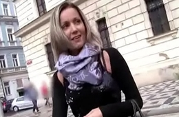 Public Pickups - Amateur Euro Floosie Seduces Tourist For Fuck With the addition of Cash 09