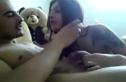 sucking boyfriend s cock