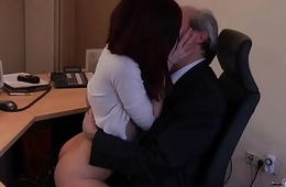 I am a young secretary seducing my boss at the office fixed price for sex