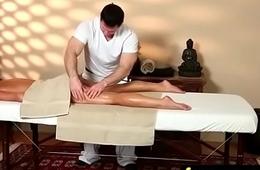 Teen massage gives stud happy ending 17
