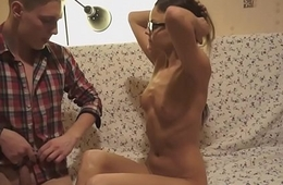 Euro spex student fucked by hard cock
