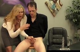 Of age Award Winner Julia Ann Drains A Cock Just about Hot HandJob!