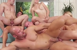 Group loving bisexuals fucking tight asses