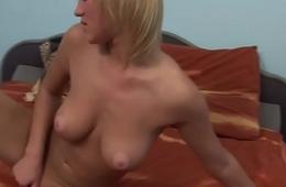 Dutch babe masturbating