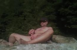 public cum in the gorge
