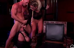 Dealings Monsters - Kissa Sins, Johnny Sins and Lily Lane Threesome