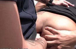 GAY Watchman - Happy Ending Massage Busted By Aggressive Cops