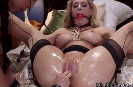 Blonde sub and foreign student submitted