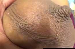Caressing Youthful Cute Ebony Body Older White Man Cheat On Wife Rub Pussy &amp_ Boobs