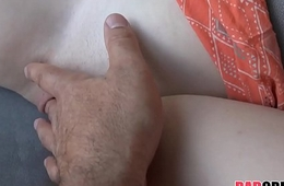 Cute Teen Stepdaughter Daddy Road Head