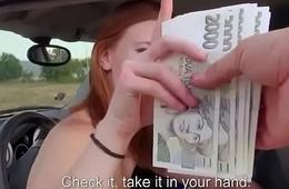 Public Cock Sucking With Euro Teen Babe Outdoors 23