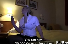 Thrilling oral-stimulation job from saleable babe