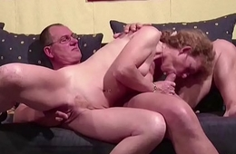 German Penurious Matured Seduce to Fuck by Neighbour When alone