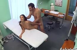 Delightsome doctor gets drilled hard