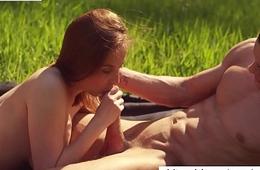 Hot Alfresco Sex with czech beauty - XCZECH.com