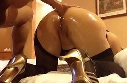 Her Hubby Fucking her Asshole