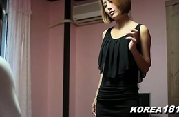 KOREA1818.COM - Gorgeous Korean Babe Fucks Ugly Nerd