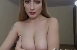 Blonde with big boobs free webcam