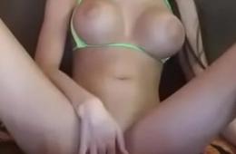**Babysitter*Monaliza Big Boobs*exotic nipple Masturbation*visit www.cam-girl.tk
