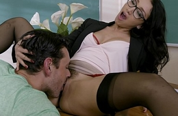 Banging A difficulty Teacher - Vicki Chase