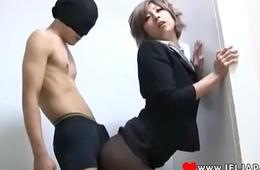 Haru Sakuraba In Pantyhose Fucked - More Japanese XXX Nimble HD Porn at www.IFLJAPAN.com