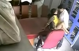 Teacher caught doing sexual intercourse and punished
