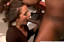 Mature Lady (veronica avluv) Ride Hard Black Monster Cock video-27